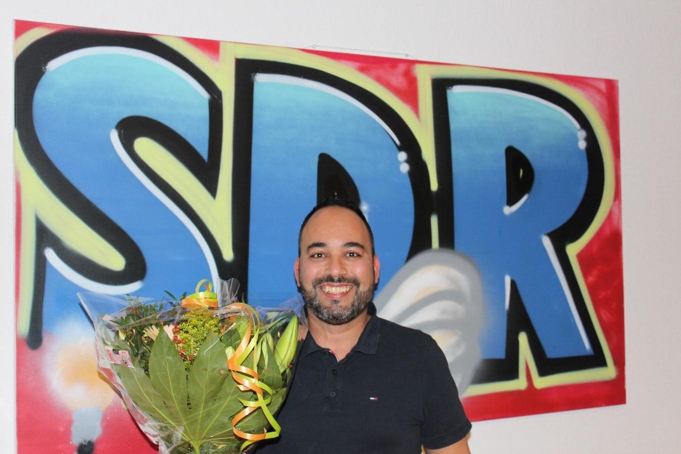 Karim Aalili 12,5 jaar in dienst bij SDR