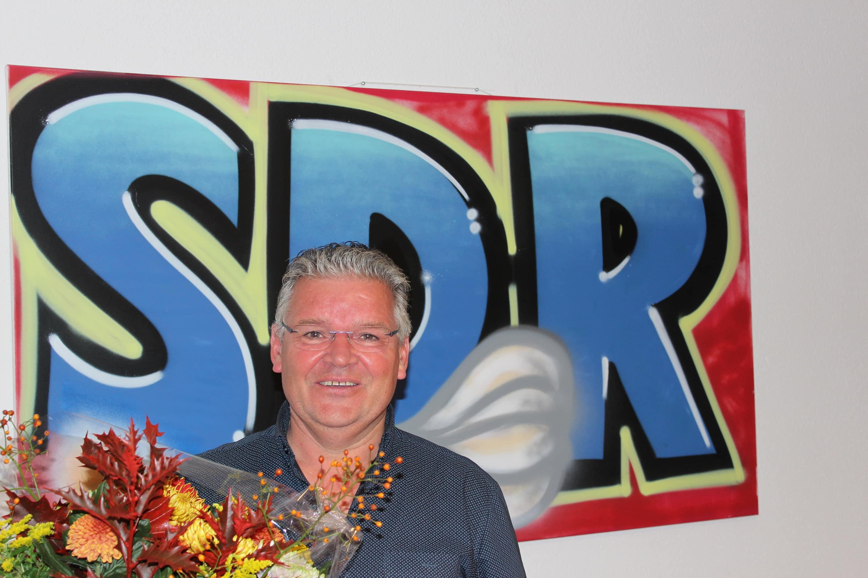 Ron Rijkers 12,5 jaar in dienst bij SDR