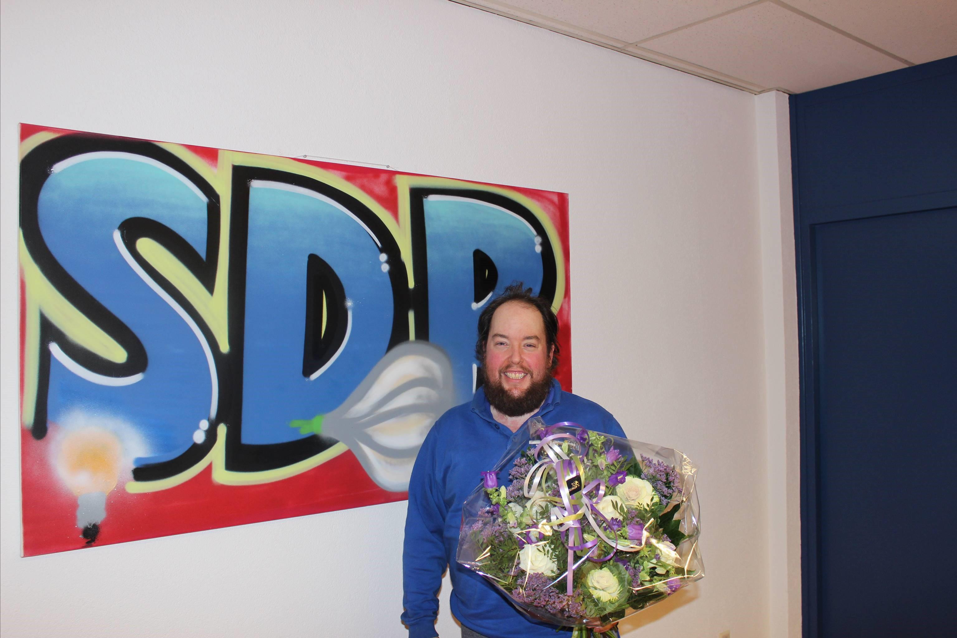 Jeffrey van Strijen 12,5 jaar in dienst bij SDR!
