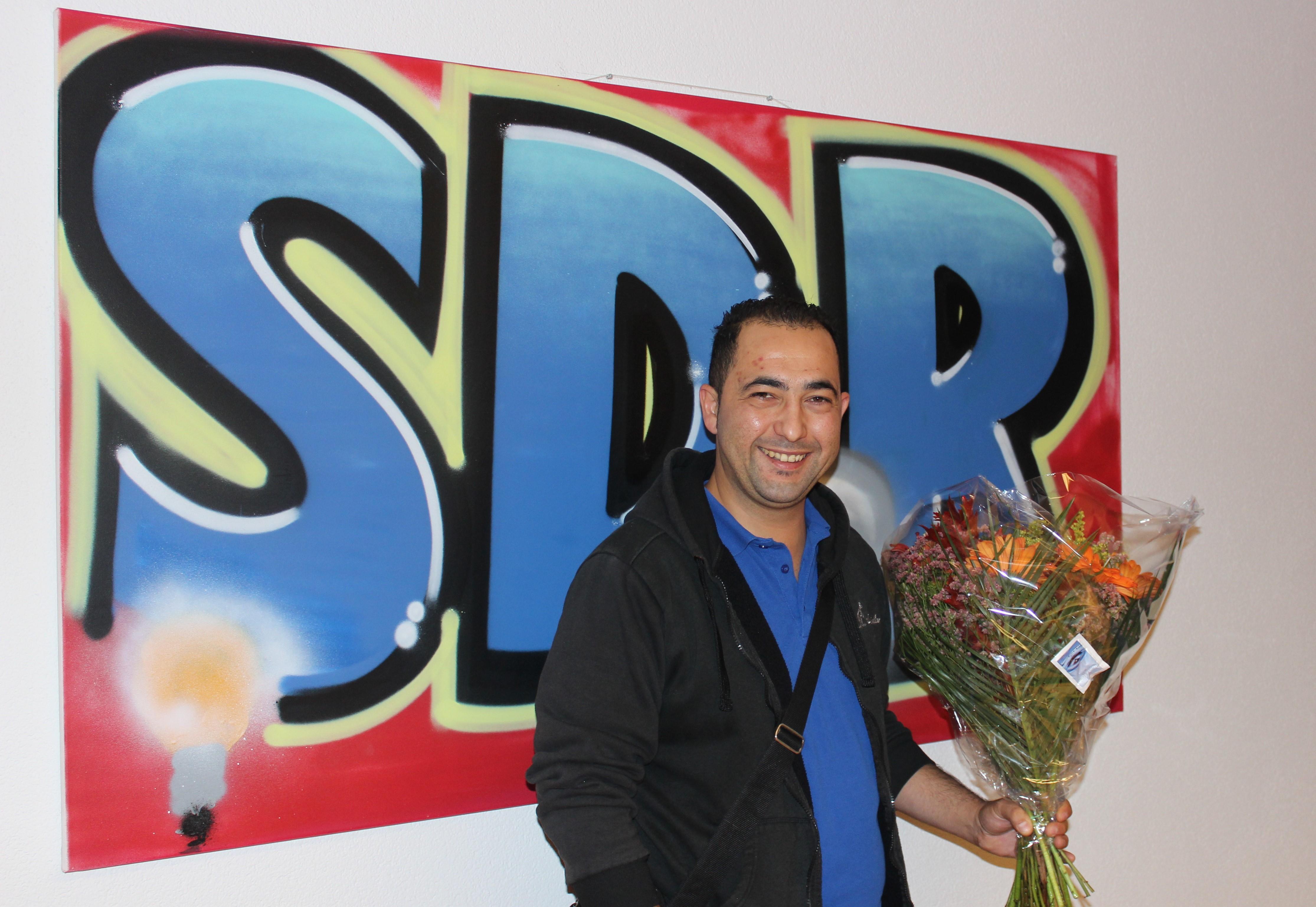 Turgay Turkmen 12,5 jaar bij SDR!