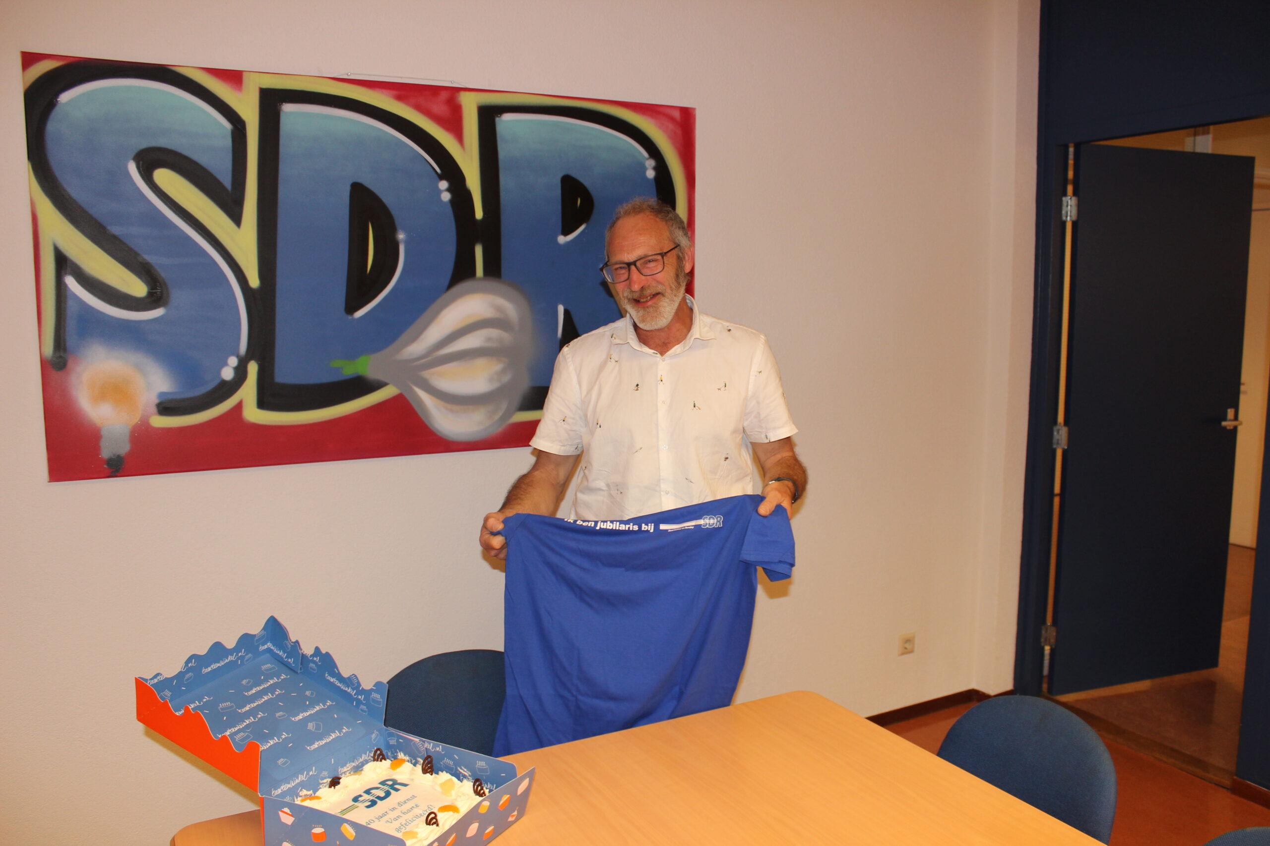 Jos Koenders maar liefst 40 jaar bij SDR!