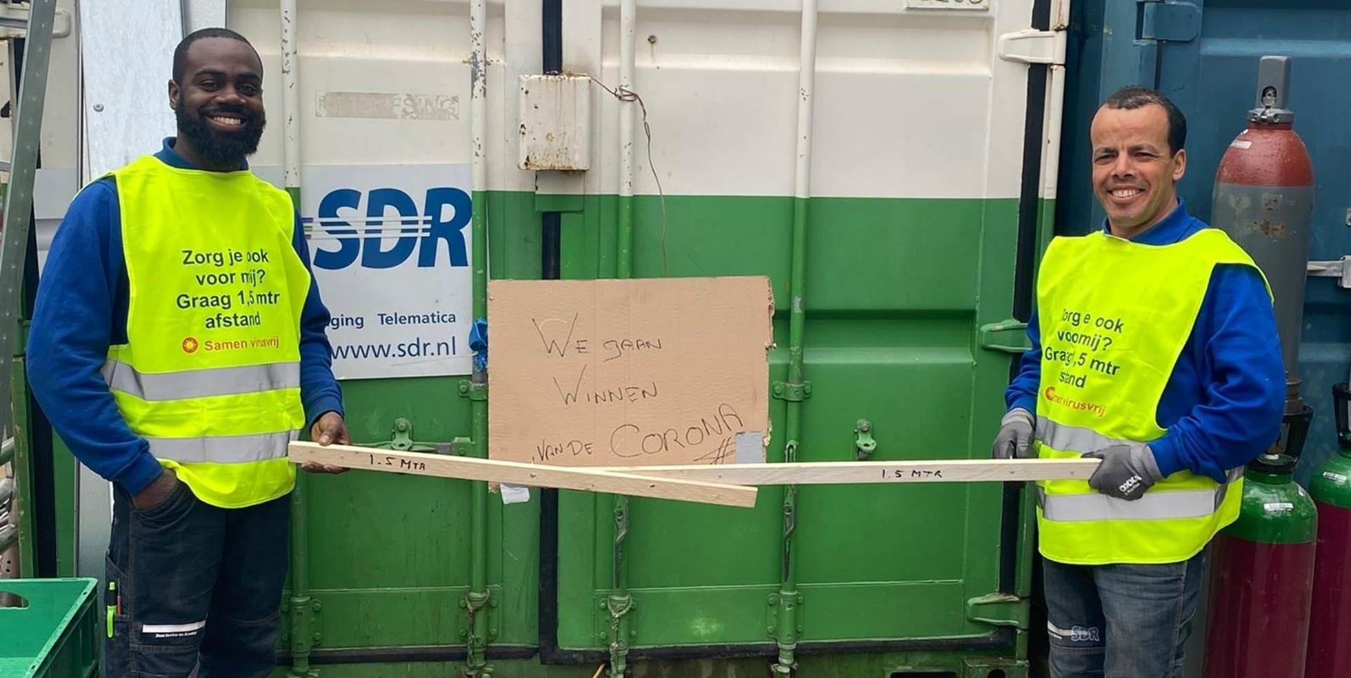 Hoe SDR verder werkt